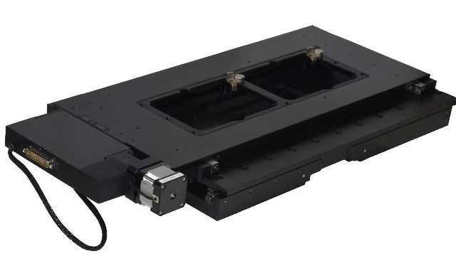 Microscope Stage for Productive Microplate Imaging