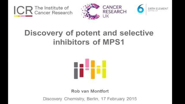 Discovery of Potent and Selective Inhibitors of Monopolar Spindle 1 (MPS1) Kinase