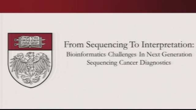 From Sequencing to Interpretation: Bioinformatics Challenges in Next Generation Sequencing Cancer Dx