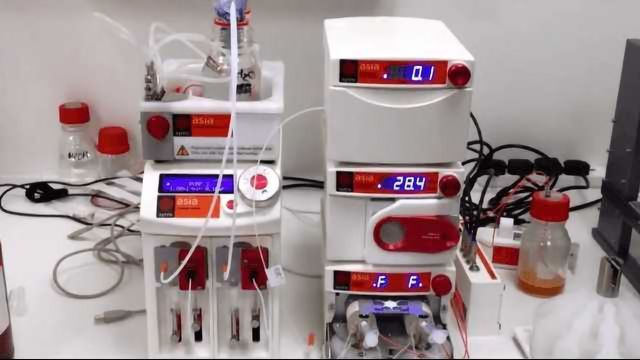 Iron Magnetic Nanoparticle Synthesis - Flow Chemistry by Syrris