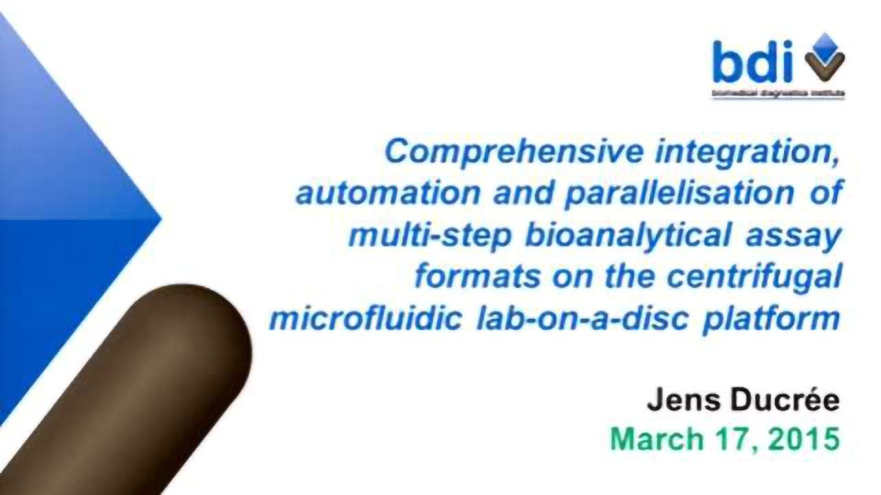 Comprehensive Integration, Automation and Parallelisation of Multi-step Bioanalytical Assay Formats on the Centrifugal Microfluidic Lab-on-a-Disc Platform