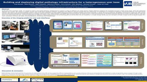 Building and deploying digital pathology infrastructure for a heterogeneous user base