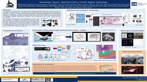 Workshop report: Bioinformatics meets digital pathology