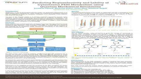 Predicting Regioselectivityand Lability of Cytochrome P450 Metabolism using Quantum Mechanical Simulations