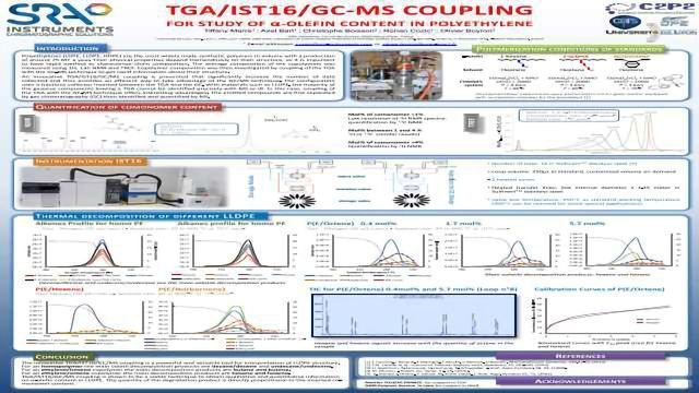 TGA/IST16/GC/MS coupling : an advanced technique for LLDPE structure interpretation