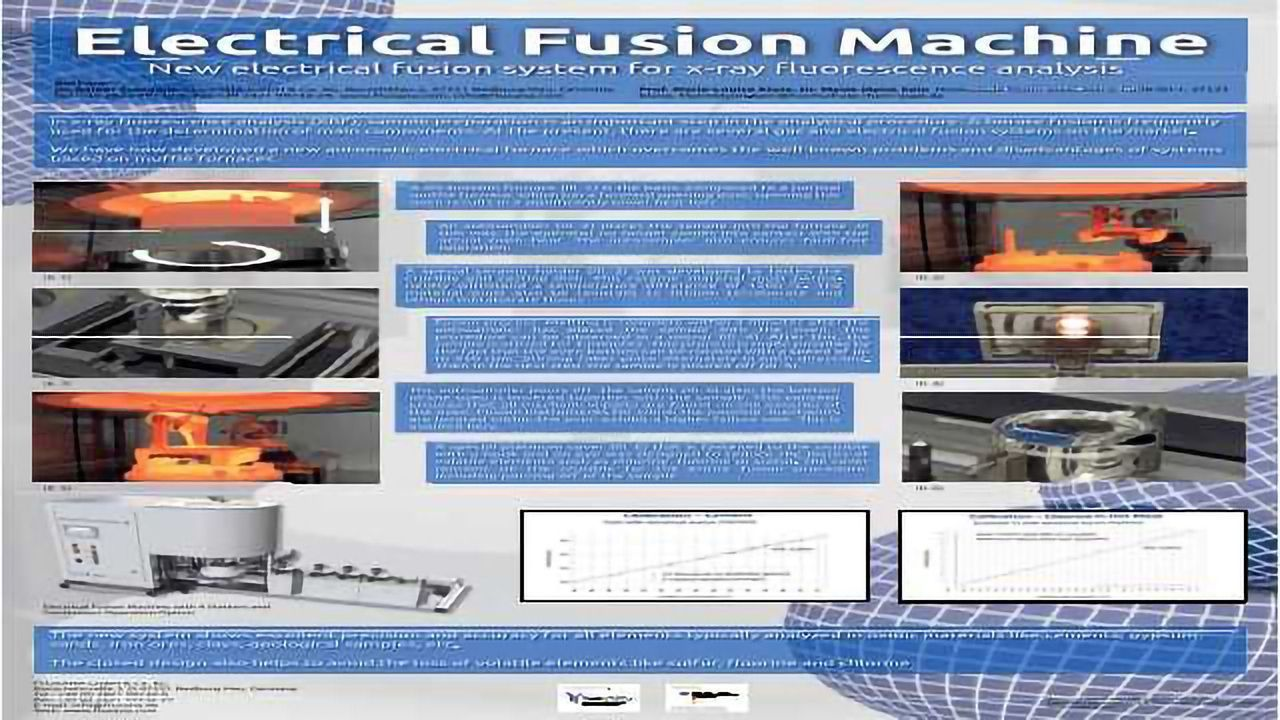 Electrical Fusion Machine - New electrical fusion system for x-ray fluorescence analysis