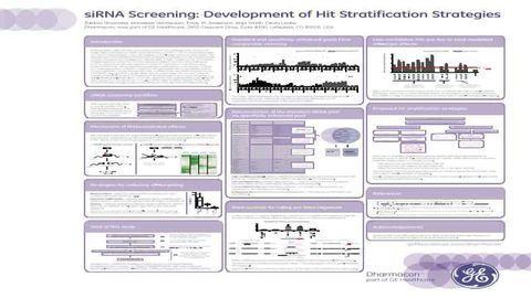 siRNA Screening: Development of Hit Stratification Strategies