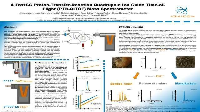 A FastGC Proton-Transfer-Reaction Quadrupole Ion Guide Time-of-Flight (PTR-QiTOF) Mass Spectrometer