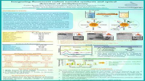 Integrating Fluorescent Carbon Nanodot Synthesis and Optical Detection of Methylmercury