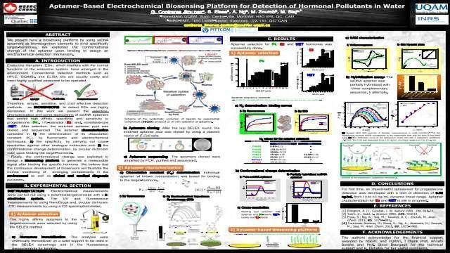 Aptamer-Based Electrochemical Biosensing Platform for Detection of Hormonal Pollutants in Water