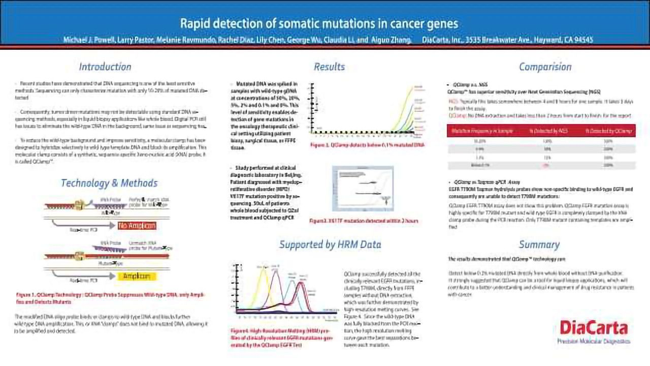 Rapid Detection of Somatic Mutations in Cancer Genes