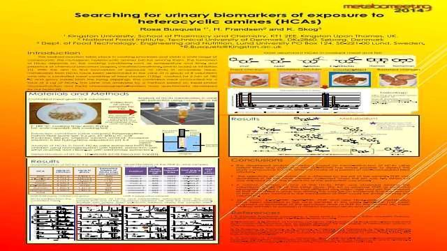 Searching for Urinary Biomarkers of Exposure to Heterocyclic Amines (HCAs)