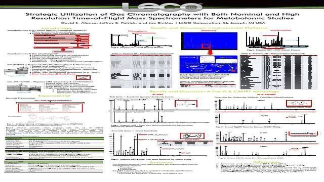 Strategic Utilization of Gas Chromatography with Both Nominal and High Resolution Time-of-Flight Mass Spectrometers for Metabolomic Studies