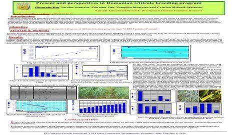 Genetic progress in the Romanian triticale breeding program