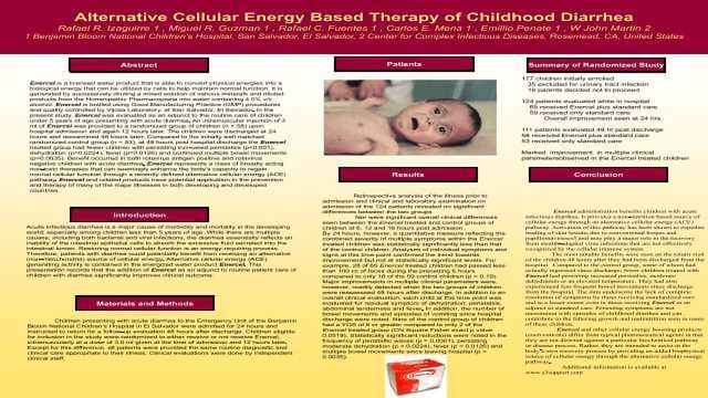 Alternative Cellular Energy Based Therapy of Childhood Diarrhea