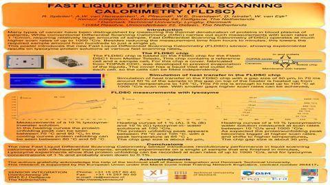 Fast Liquid Differential Scanning Calorimetry (FLDSC)