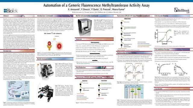 Automation of a Generic Fluorescence Methyltransferase Activity Assay