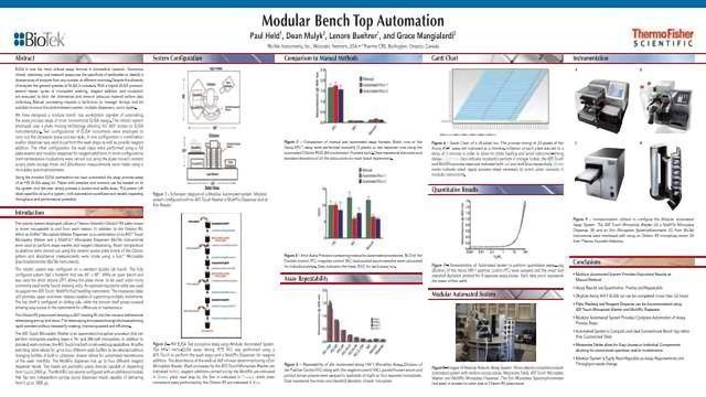 Modular Bench Top Automation