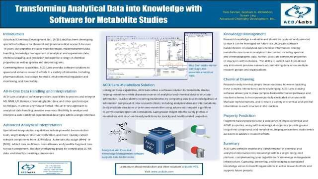 Transforming Analytical Data into Knowledge with Software for Metabolite Studies