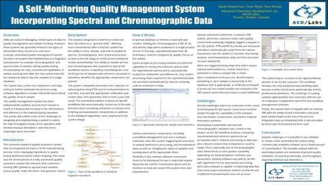 A Self-Monitoring Quality Management System Incorporating Spectral and Chromatographic Data