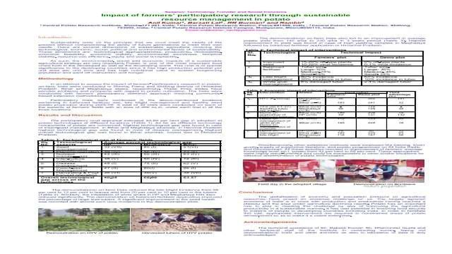 SUBSTITUTION OF FERTILIZER NITROGEN THROUGH ORGANIC SOURCES IN MAIZE -WHEAT CROPPING SYSTEM IN INDO-GANGETIC PLAINS