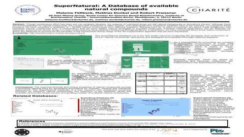 SuperNatural: A Database of Available Natural Compounds