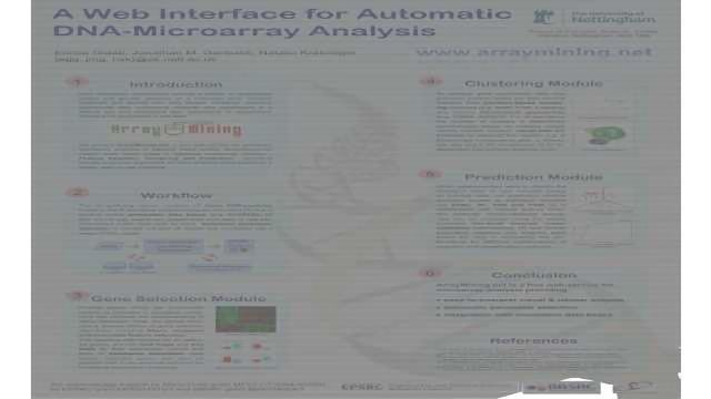 A Web Interface for Automatic Microarray Analysis