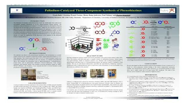 Palladium-Catalyzed Three-Component Synthesis of Phenothiazines