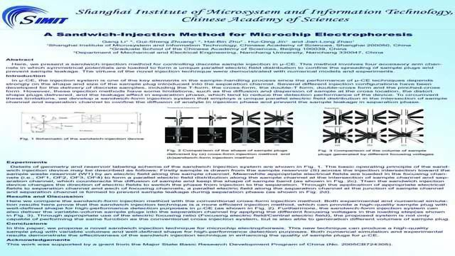 A Sandwich-Injection Method for Microchip Electrophoresis