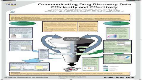 Communicating Drug Discovery Data Efficiently and Effectively