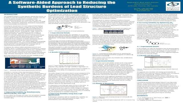 A Software-Aided Approach to Reducing the Synthetic Burdens of Lead Structure Optimization