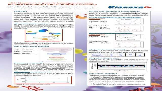 ADP Hunter™: A Generic Homogeneous Assay for High Throughput Kinase Inhibitor Screening