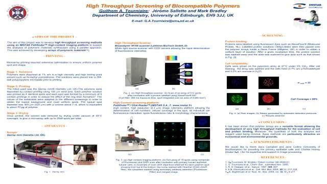 High Throughput Screening of Biocompatible Polymers