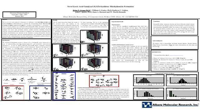 Novel Lewis Acid Catalyzed (E)/(Z)-Arylidene Thiohydantoin Formation