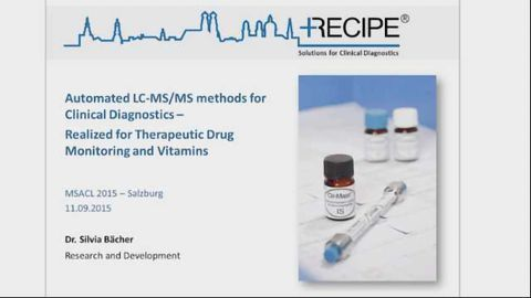 Automated LC-MSMS methods for Clinical Diagnostics - Realized for therapeutic drug monitoring and vi