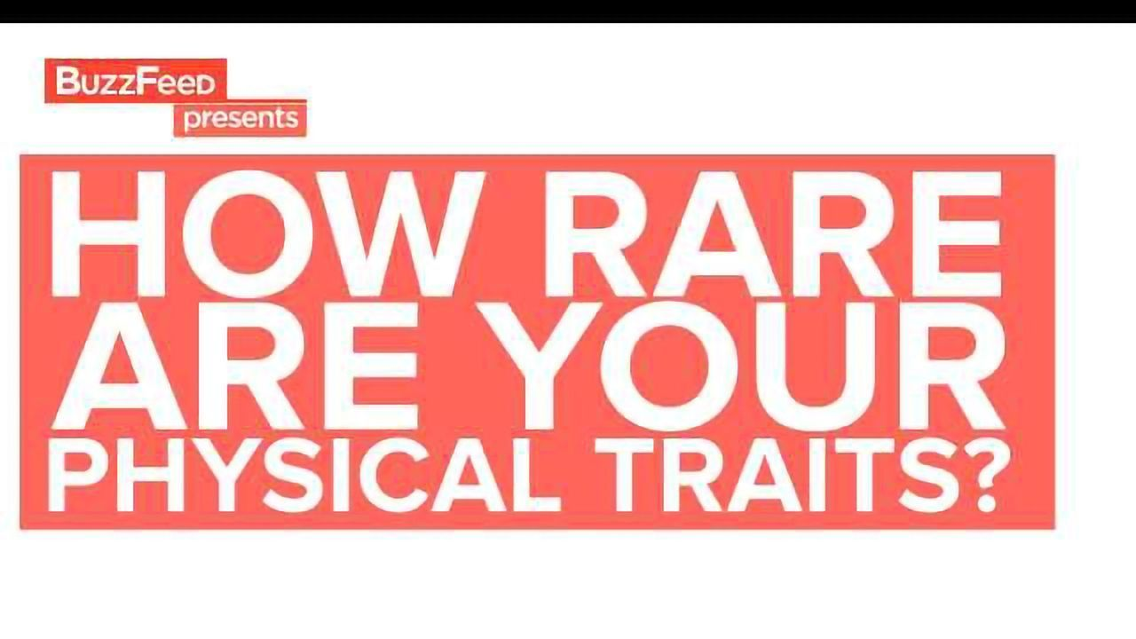 How Special Are Your Physical Traits?