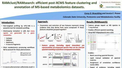 RAMclust/RAMsearch: efficient post-XCMS feature clustering and annotation of MS-based metabolomics datasets