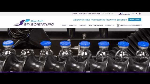 SP Scientific Launches New PennTech Website