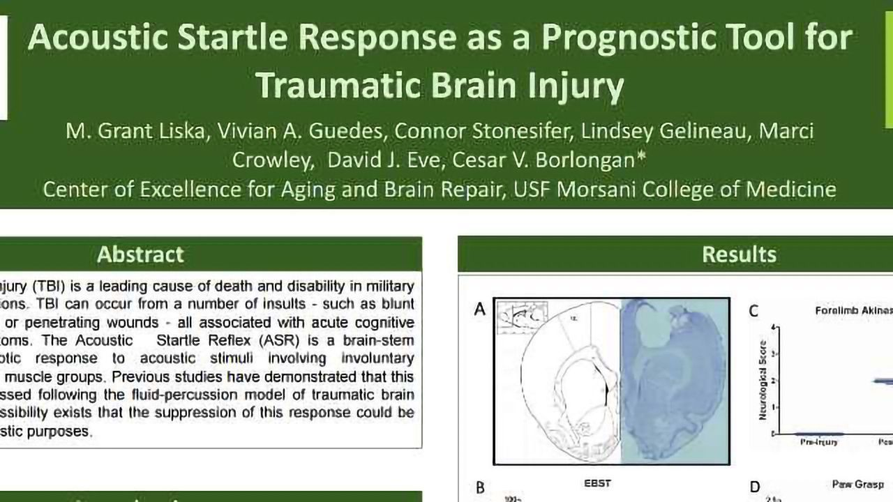 Acoustic Startle Response as a Prognostic Tool for Traumatic Brain Injury
