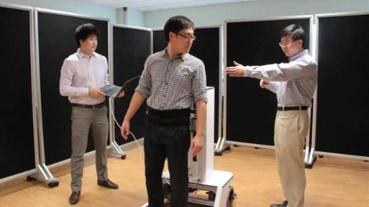 Novel robotic walker helps patients regain natural gait and increases productivity of physiotherapists