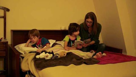 How kids' brains respond to a late night up
