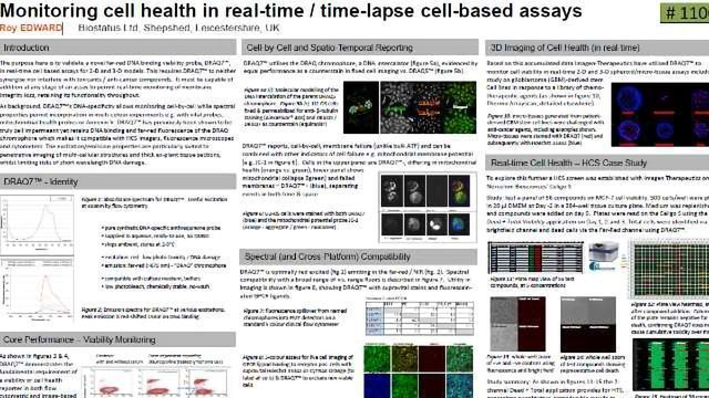 Monitoring Cell Health in Real-time / Time-lapse Cell-based Assays