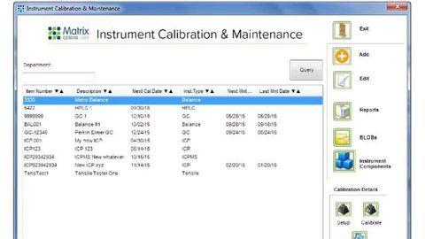 Monitoring Laboratory Instrument Calibration And Maintenance Status