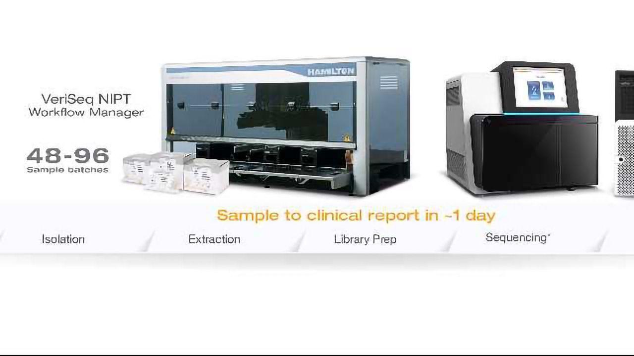 llumina Launches the VeriSeq™ NIPT Solution in Europe