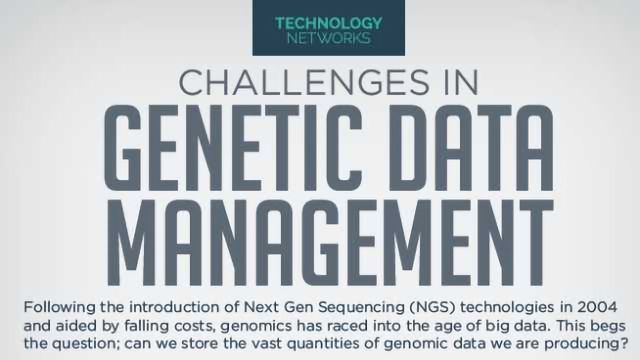 Challenges in Genetic Data Management