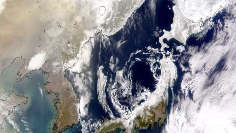 More Natural Dust Improves Air Quality in Eastern China