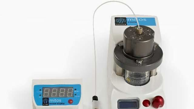 Dolomite Microfluidics' Mitos P-Pumps Enable Reliable Production of Highly Monodisperse Droplets