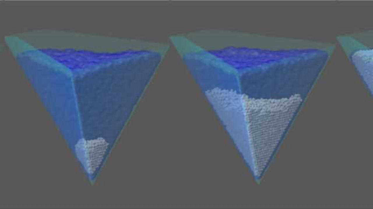 Ice Formation Discovery May Improve Frozen Food Production