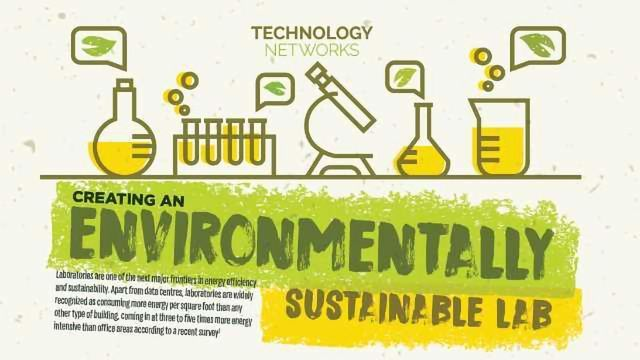 Creating an Environmentally Sustainable Lab