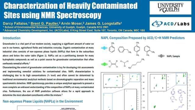 Characterization Of Heavily Contaminated Sites Using Nmr
